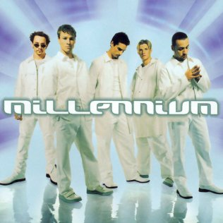 Backstreet Boys Millennium album cover - 1999