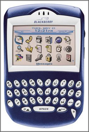 An image of the first blackberry