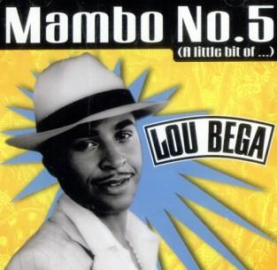 Lou Bega's Mambo No. 5 album cover