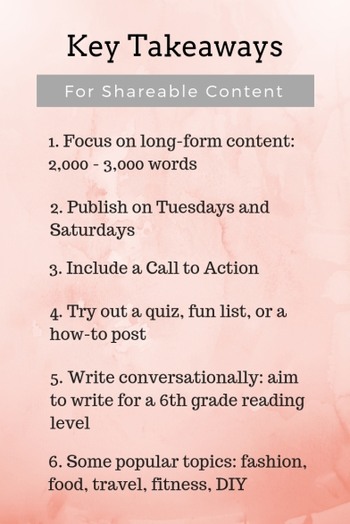 shareable content pinterest infographic