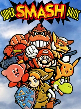 Image of the original Super Smash bros.