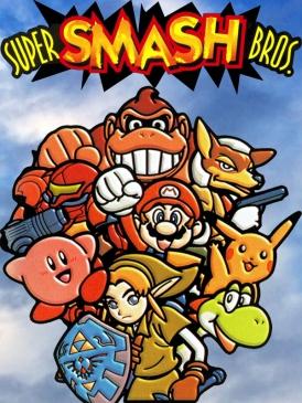 Image of the original Super Smash bros.