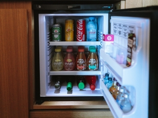 a stocked and organized refrigerator