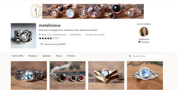 metalicious homepage