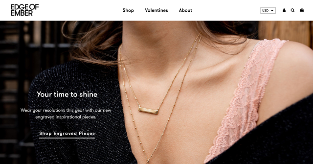 Edge of Amber homepage