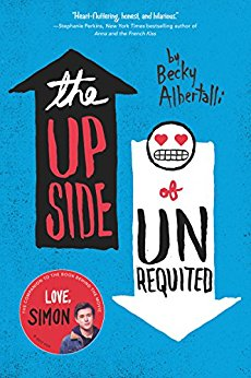 The upside of unrequited by Becky Albertalli