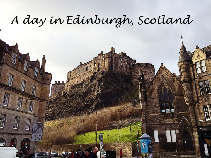 A day in Edinburgh: Harry Potter, Castles, andWhiskey