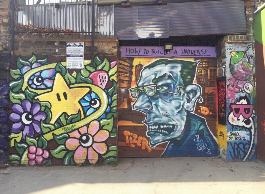 street art from shoreditch