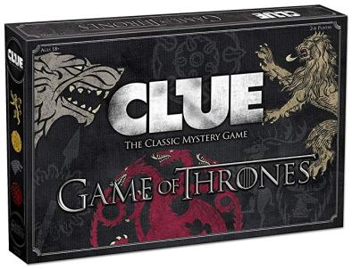 GOT clue board game