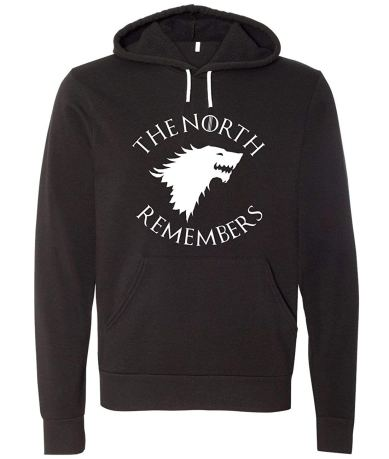 Game of thrones the north remembers sweatshirt