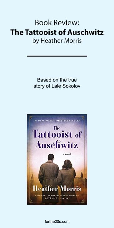 The Tattooist of Auschwitz pinterest