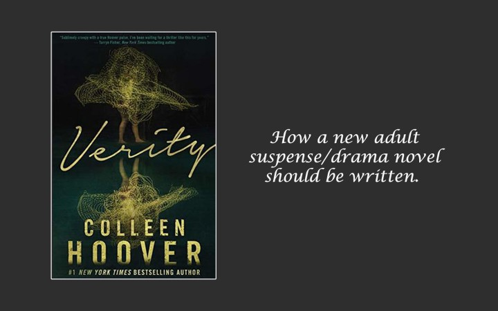 Book Review: Verity by Colleen Hoover (this is the best book she's written)