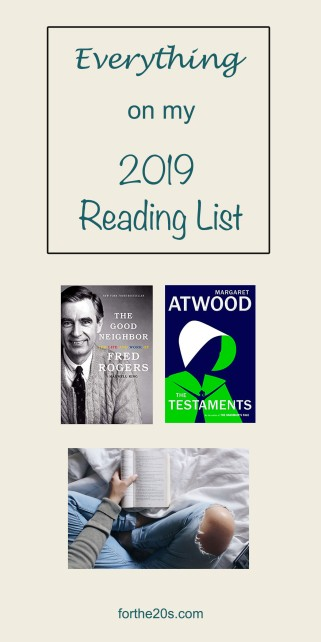 pinterest graphic reading list