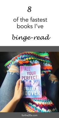 8 of the fastest books I've binge-read - forthe20s.com